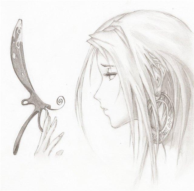 Парень и девушка рисунок карандашом по клеточкам