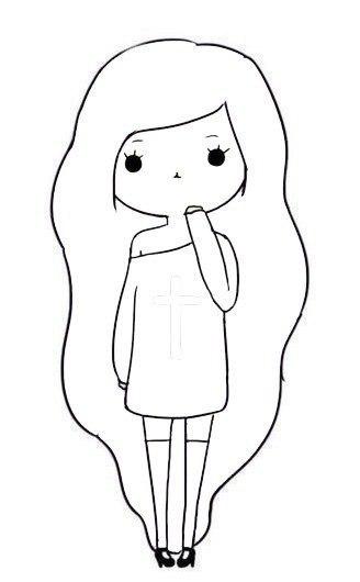 Рисунок карандашом для начинающих девушка плачет