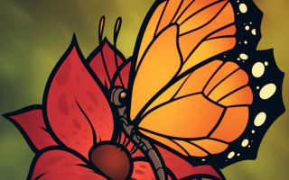 Картинки для срисовки: цветы