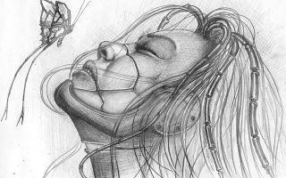 Интересные картинки для срисовки