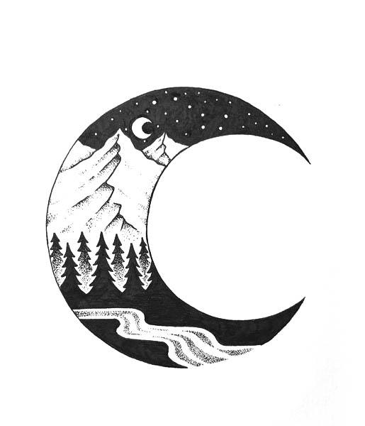Wolf Tattoo Design Sketches