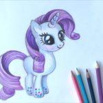 Картинки пони для срисовки