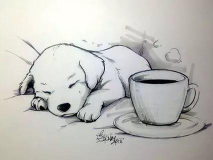 Картинки срисовать карандашом легкие для начинающих