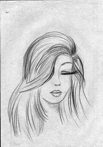 Картинки карандашом нарисованные люди