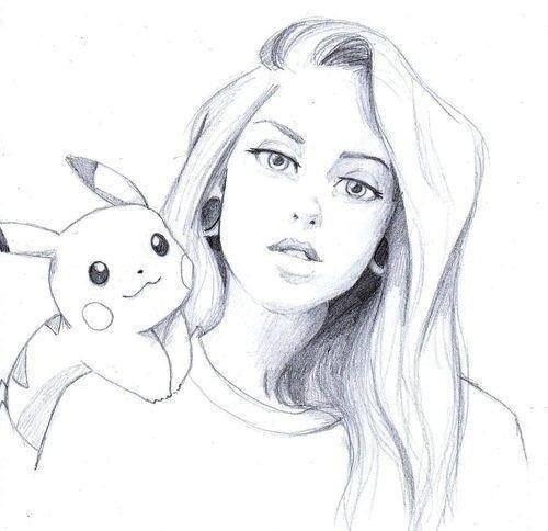 Картинки карандашом для девочек 14 лет аниме 4