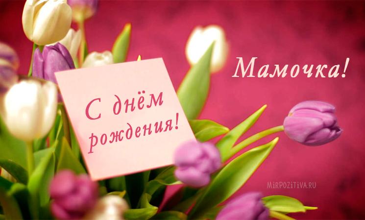 Kartinki-s-dnem-rozhdeniya-mama-19 Самодельные открытки для мамы в подарок на день рождения или 8 Марта