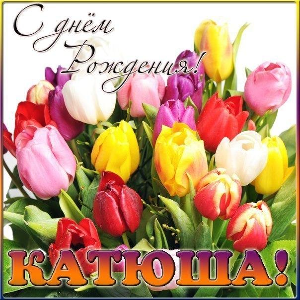 Стихи поздравления с днем рождения с именами катя