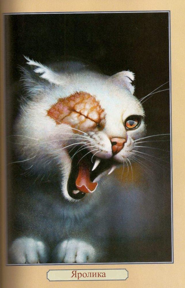 Учимся рисовать котов воителей, вКонтакте