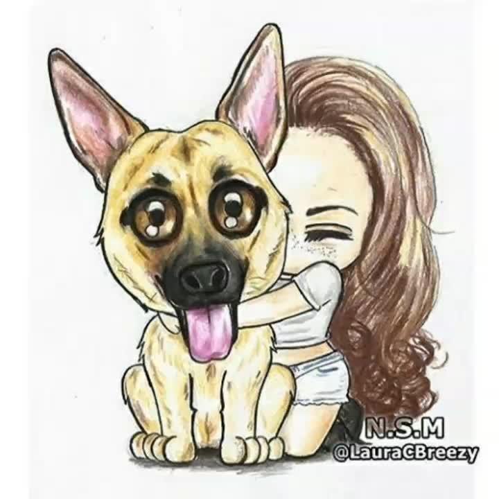 17 Best Images About Pins For Pets On Pinterest: Мимимишные рисунки для срисовки (картинки для срисовывания