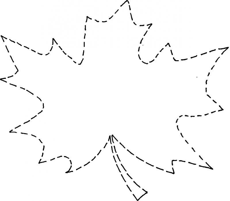 Рисунок кленовый лист скачать